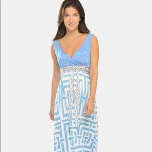 Olian Maternity size xs maxi dress